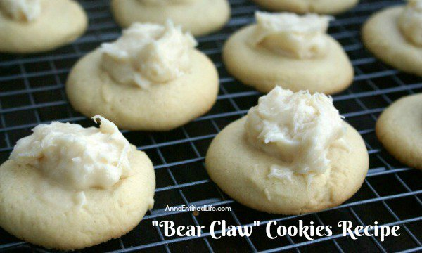 Bear Claw Cookies Recipe