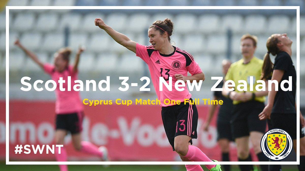 "New Zealand Time Twitter: Scottish FA On Twitter: ""FULL TIME"