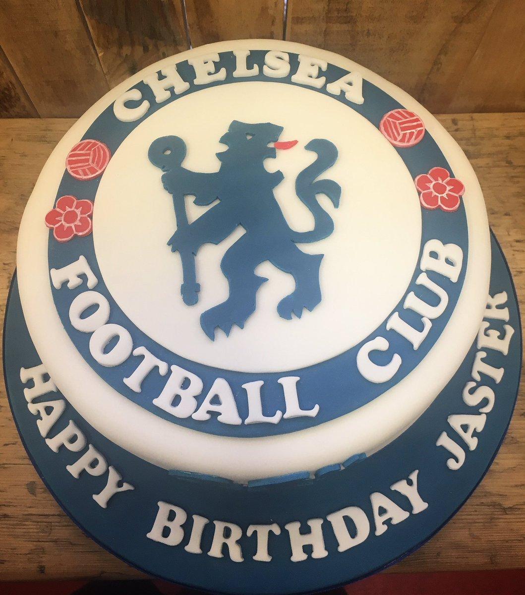Amazing Mannabakeryharrogate On Twitter Chelsea Football Club Themed Personalised Birthday Cards Veneteletsinfo