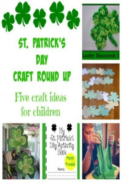 5 Easy St. Patrick's Day Crafts For Children