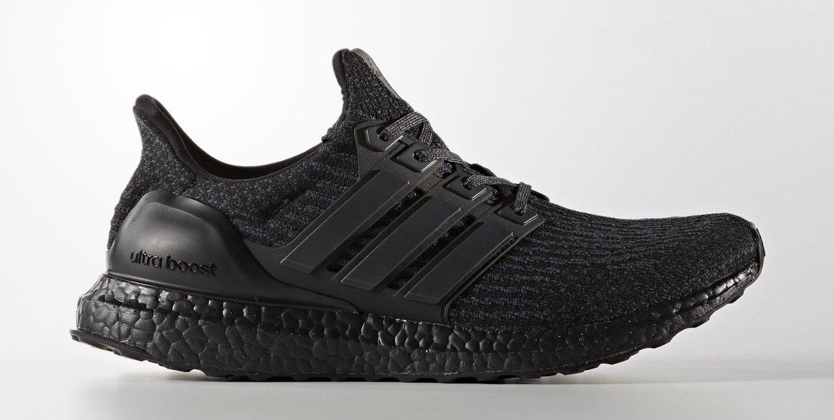 Triple Black  Adidas Ultra Boosts releasing online today afbfda327