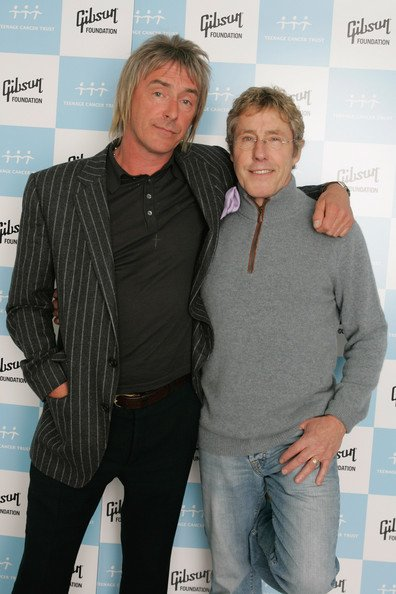 Happy Birthday to Roger Daltrey! Here he is with Weller for