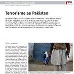 Terrorisme au Pakistan: analyse par Prem Mahadevan, Center for Security Studies (CSS), Zurich - PDF: https://t.co/IWvjrY9INa