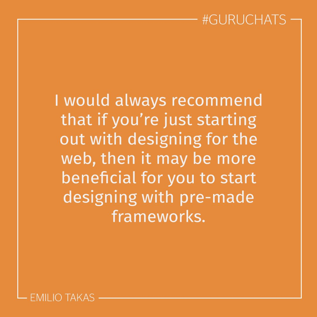 A2. Really, the answer is all down to your personal preference. #guruchats https://t.co/f5W6ZoyUqj