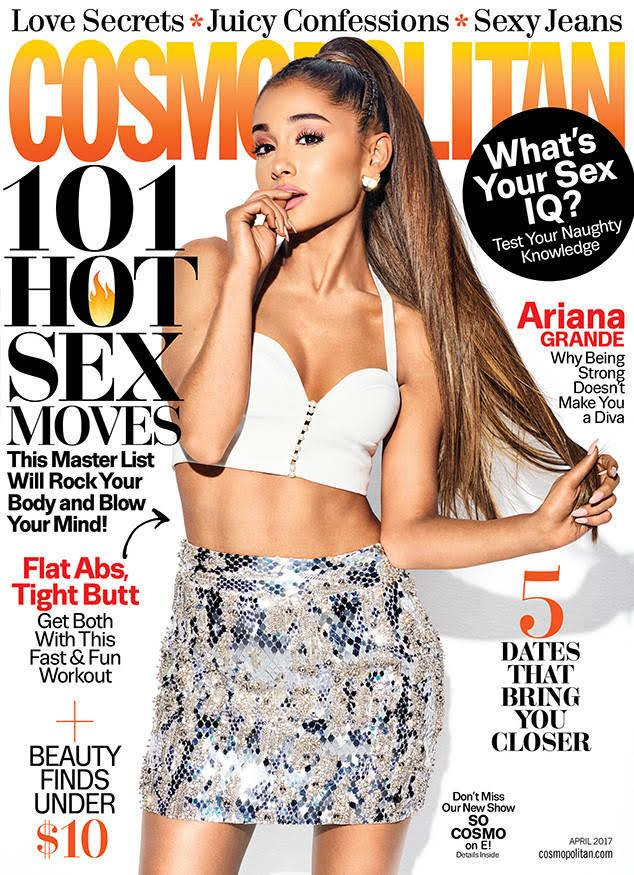 Ariana Grande for Cosmopolitan - April 2017 #ArianaGrande #cosmopolita...
