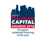 Honoured to have won 2016 European Residential Financing Award by @recapital, for our UK PRS bond, under the £3.5bn PRS Guarantee Scheme