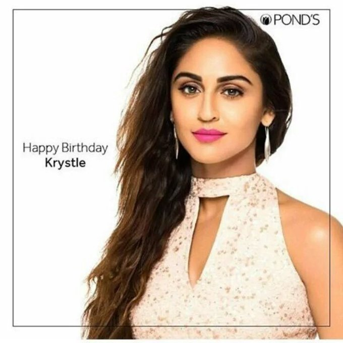 Happy Birthday Krystle Dsouza May you glow even brighter in the succeeding episodes of your life !