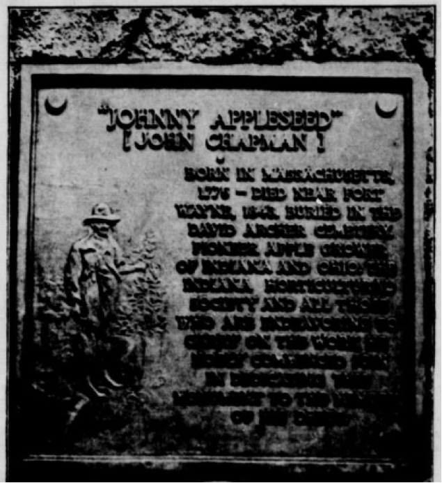 Happy Johnny Appleseed Day! The planter of orchards in several states, John Chapman, died #OTD 1845. #ChronAm https://t.co/qGObkzTG61 https://t.co/xDA8MXsSab