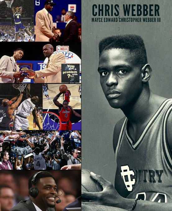 Happy Birthday to Hall of Fame Finalist Chris Webber!   TRIBUTE:
