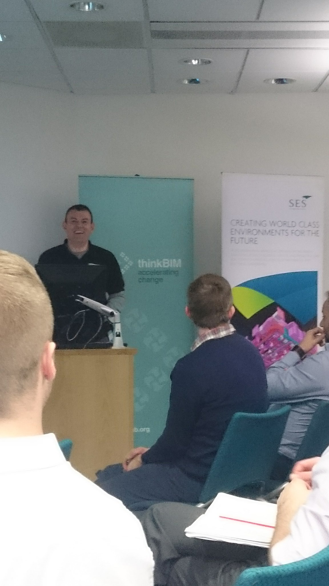 #TBIM2017 being introduced by @djhreed67, a big smile when he realises where tonight's chair is! #WhatCanGoWrong? https://t.co/lAxErZ8NR4
