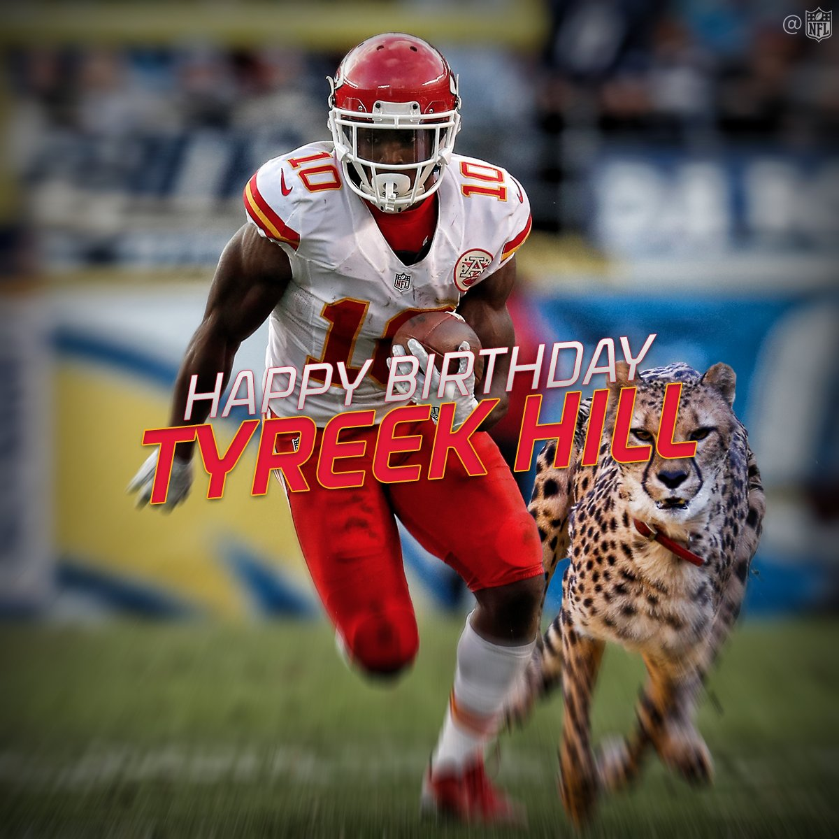 "Ian Kenyon on Twitter ""NFL wishes Tyreek Hill a happy birthday"