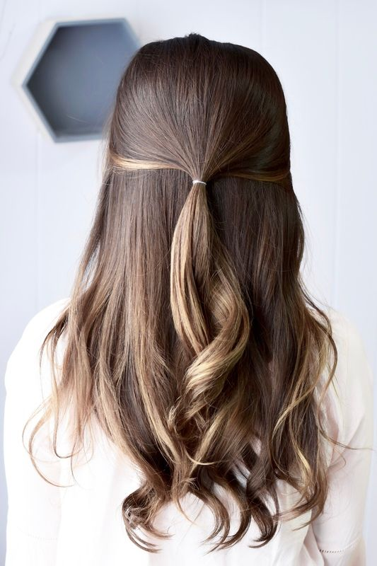 Bangstyle On Twitter Go Step By Step To The Perfect Half Up Half