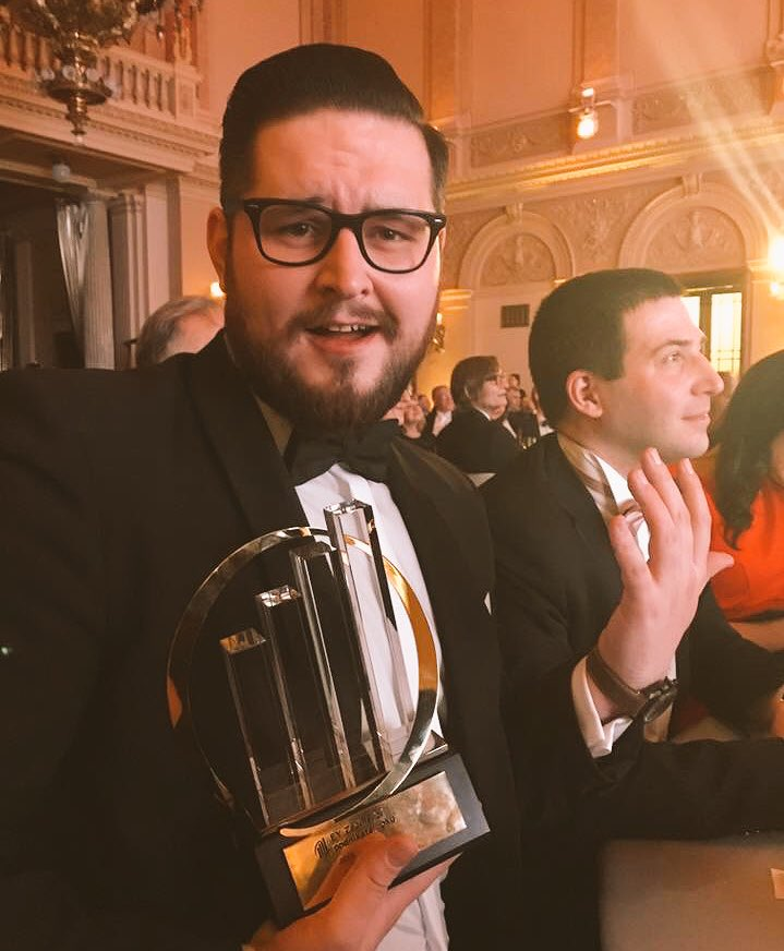 Wait, what? Did I just won Entrepreneur of the year under 30?! Acceptable birthday gift
