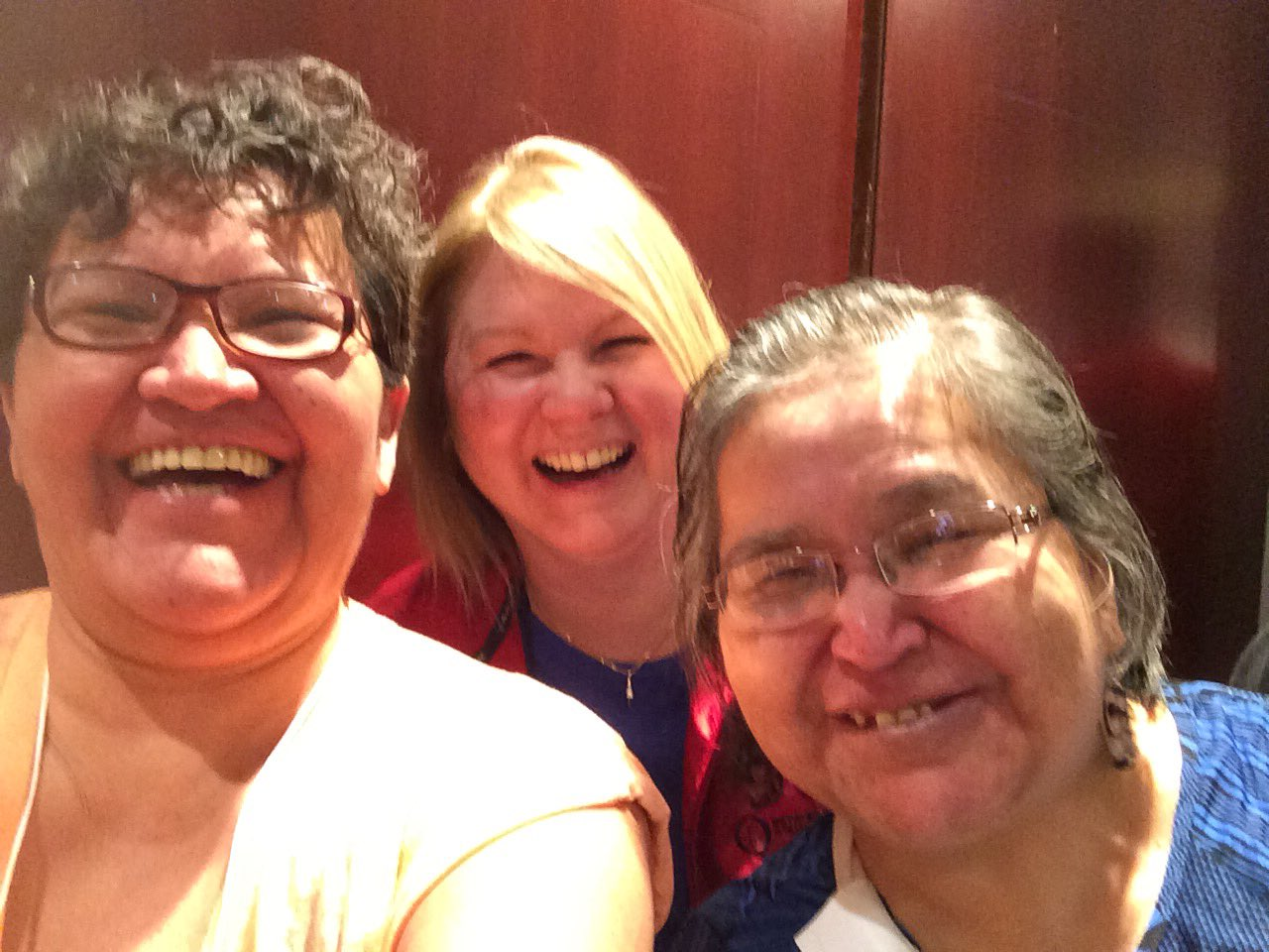 Fun with patient partner Sherry and Sharon! #QF17 https://t.co/zlKPMZ4SwW