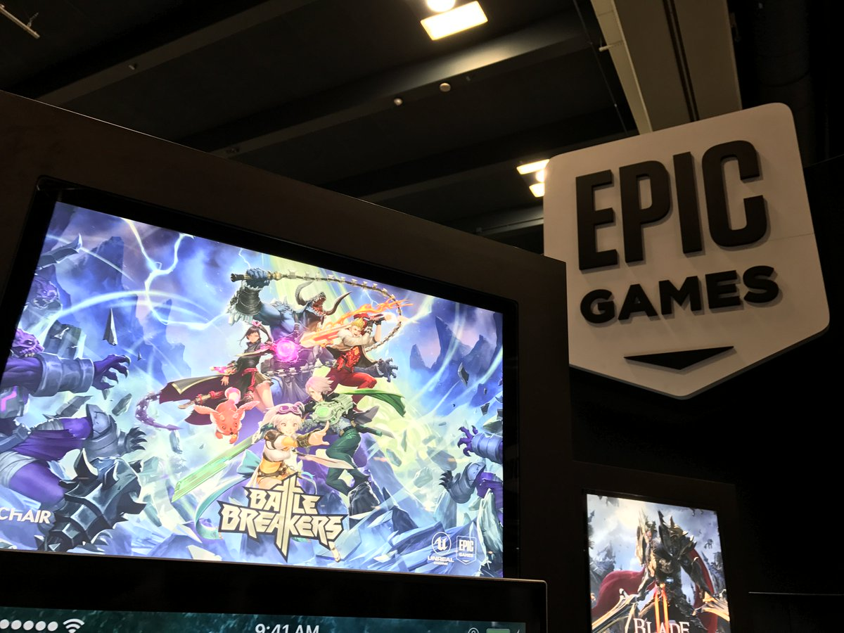 At #GDC17? Come check out Battle Breakers at the Epic Games Booth! Booth #1024 Moscone South.