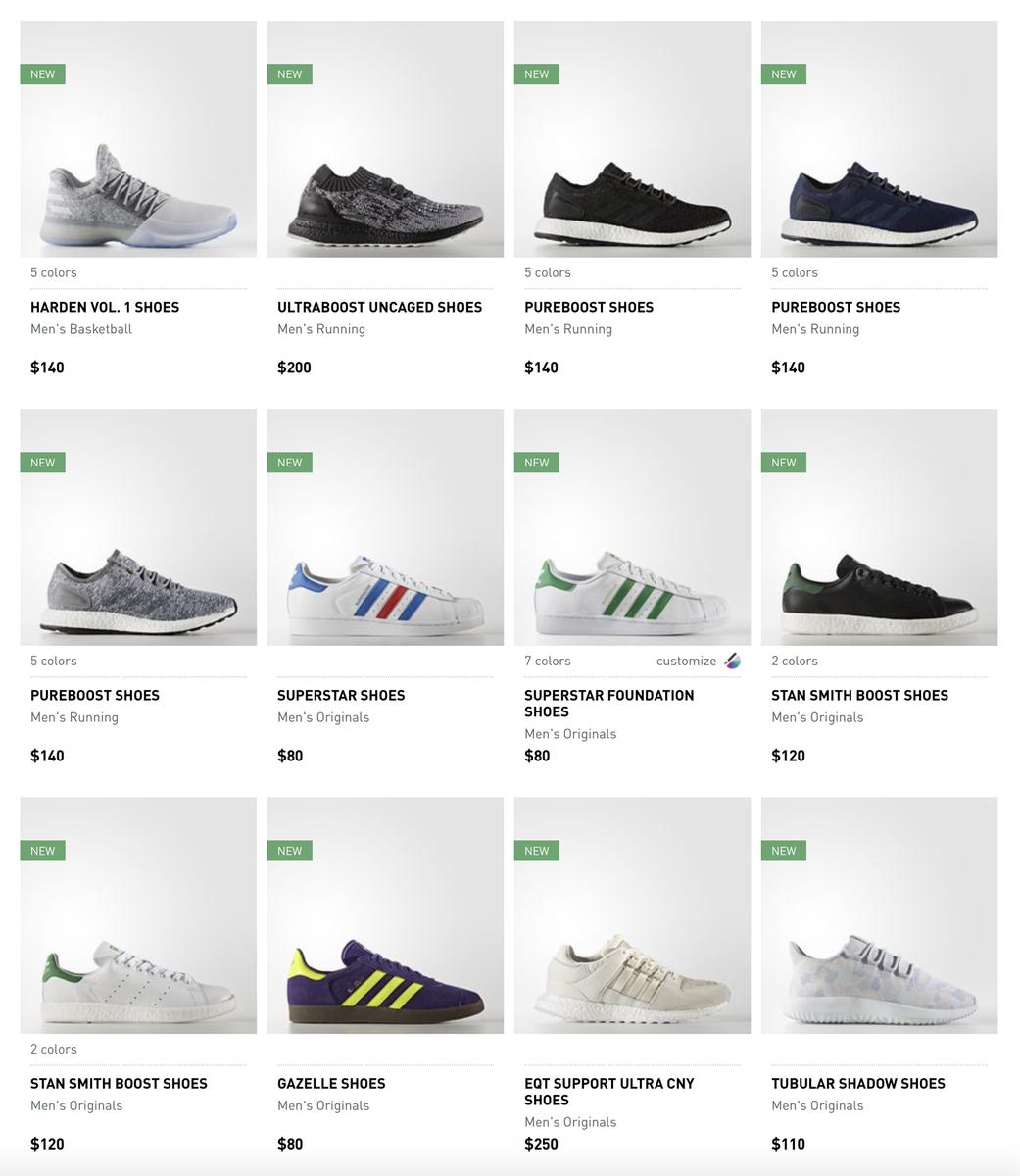 Adidas segnalazioni su twitter: