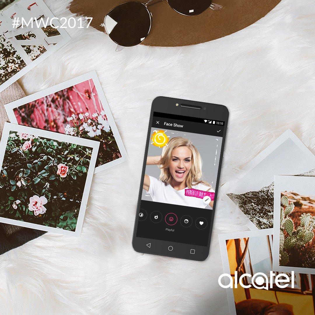 Tomarte una selfie será la experiencia más divertida con Alcatel A5. Con fotos así, los likes están garantizados. #MWC2017 https://t.co/eNFXgeGwKe