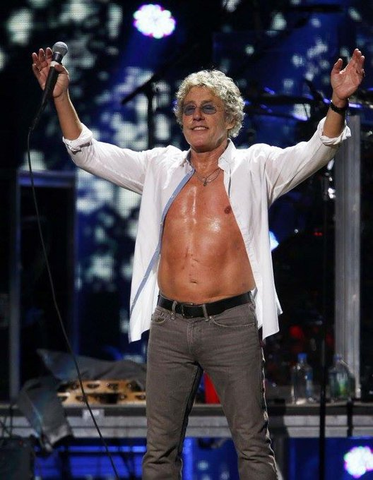 Happy birthday to the great Roger Daltrey March 1st. 73 years young.
