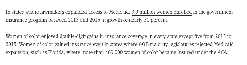 Women of color would bear the brunt of a repeal of the Affordable Care Act https://t.co/nhnNLtNAkR  #WellnessWed https://t.co/XdDeUk5MlL