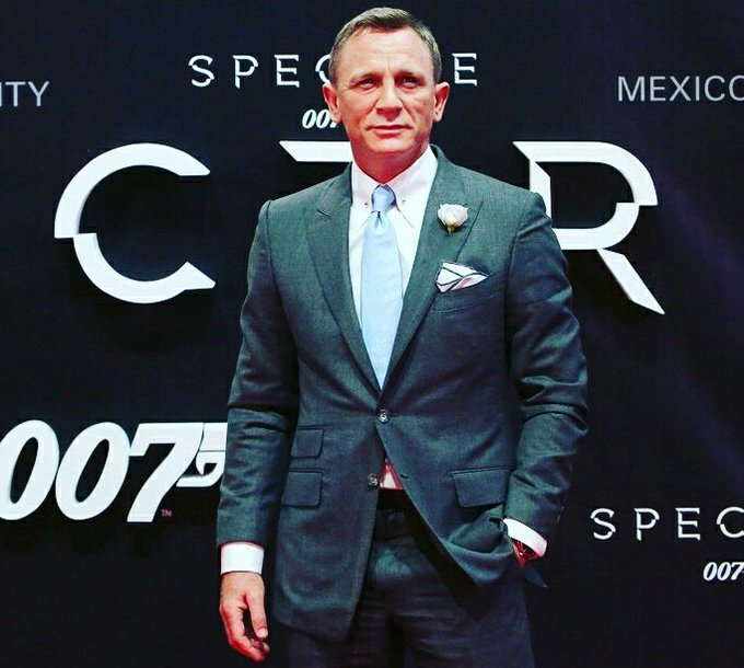 Happy Birthday Daniel Craig# James Bond