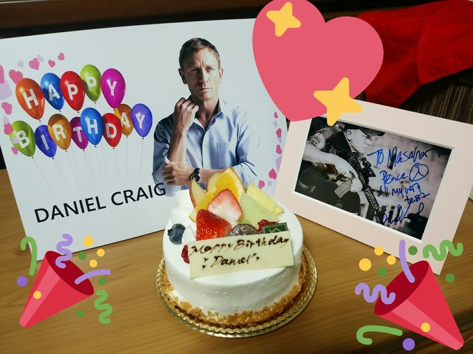 Happy Birthday Daniel Craig    Have a great day