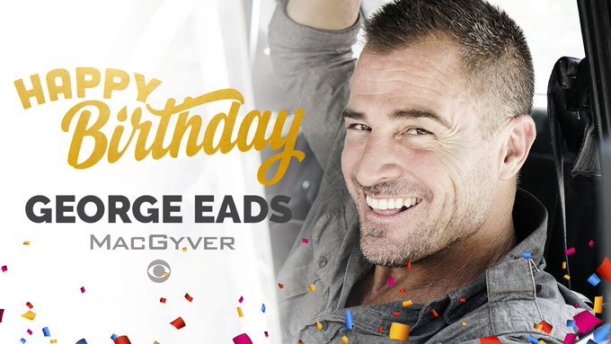 Happy Birthday George Eads! if you love him as Jack Dalton in