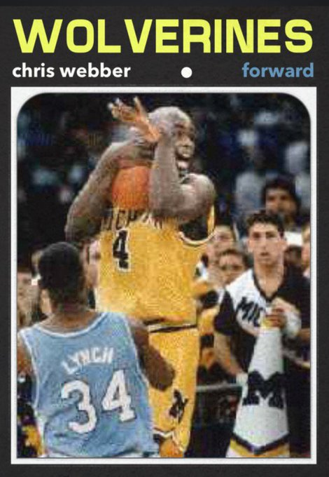 Happy ringless 44th birthday to Chris Webber.