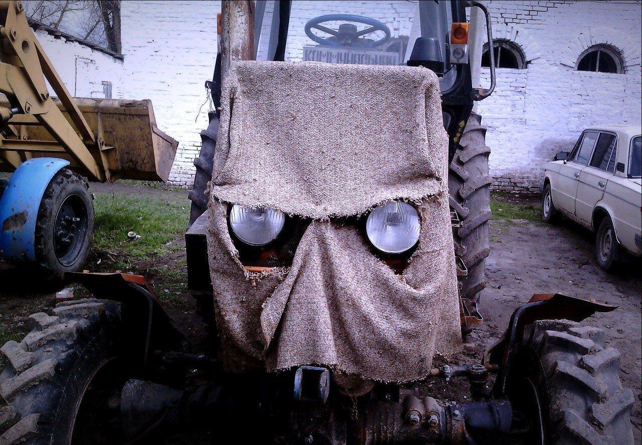 Спасибо, картинка приколы трактора
