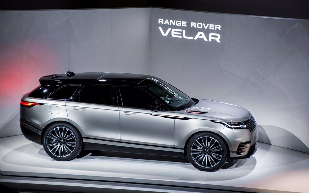 gq france on twitter le nouveau range rover velar en sc ne. Black Bedroom Furniture Sets. Home Design Ideas