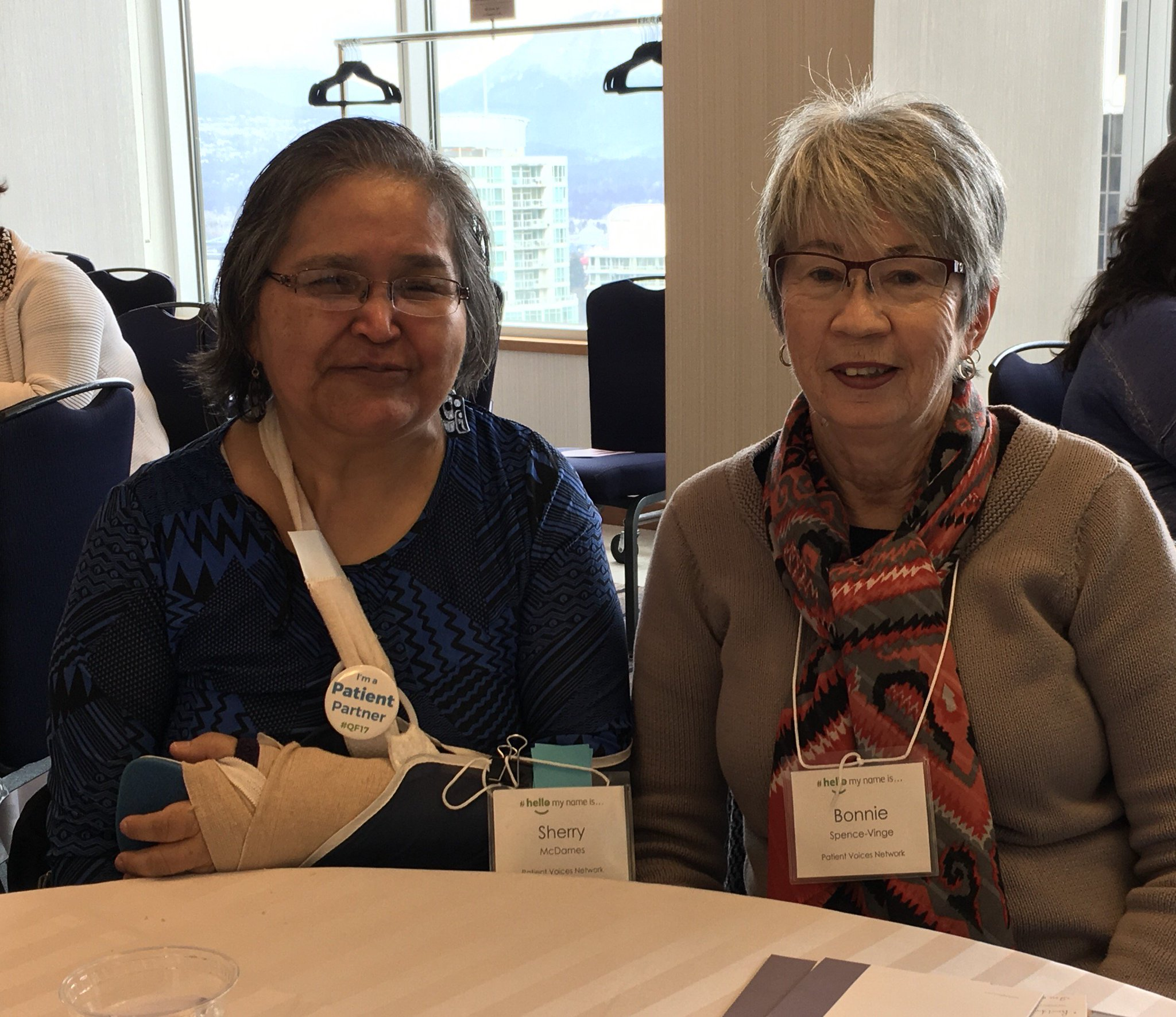 Our #pt partner Sherry & Bonnie are ready to learn abt tools for self-reflection, change & transformation at one of the #QF17 sessions! https://t.co/PyRpRlN2w0