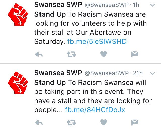 Stand Up to Racism absolutely definitely isn't an SWP front at all even slightly, part 39 https://t.co/RWaEMuFziF