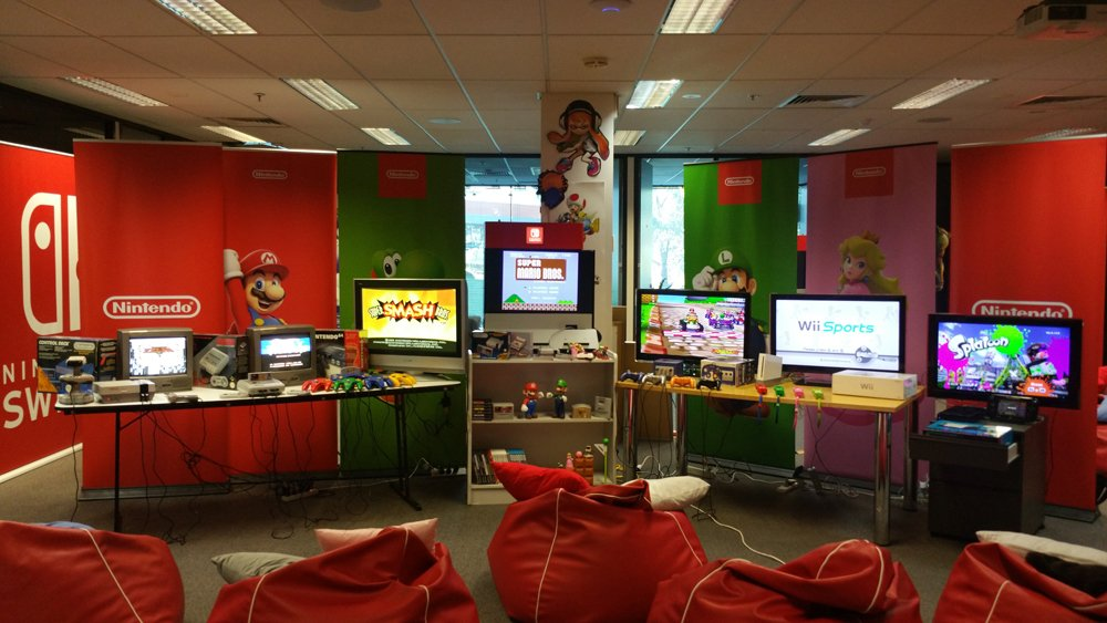 Wondrous Nintendo Au Nz On Twitter At Nintendo Australia Hq We Are Gmtry Best Dining Table And Chair Ideas Images Gmtryco