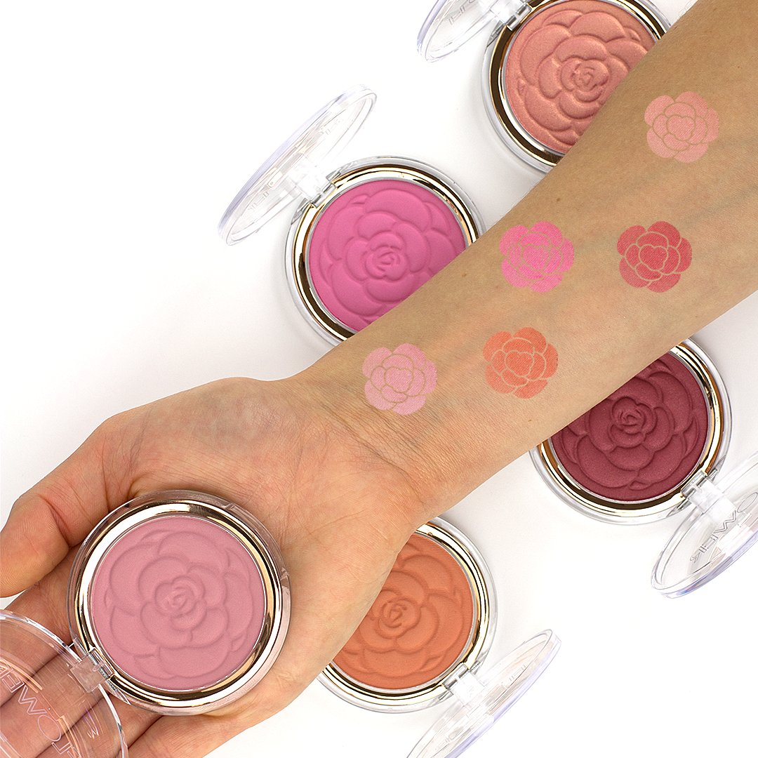 Flower beauty on twitter our new flower pots powder blush are 315 pm 1 mar 2017 izmirmasajfo