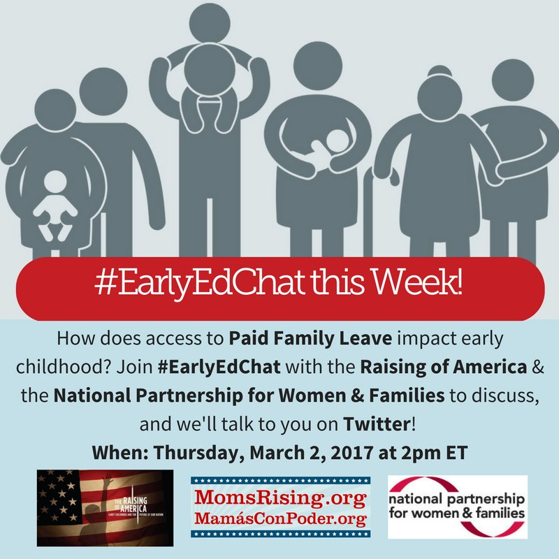 Thumbnail for #EarlyEdChat 3/2/2017 with NPWF & Raising of America