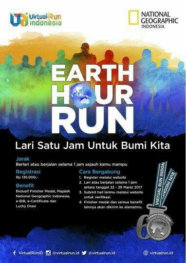 Earth Hour Run • 2017
