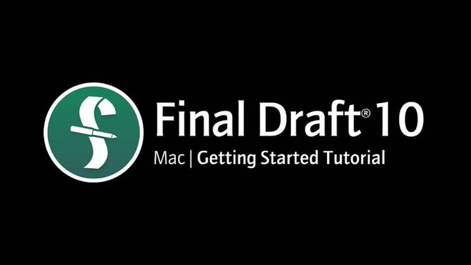 Final Draft 10 for Mac