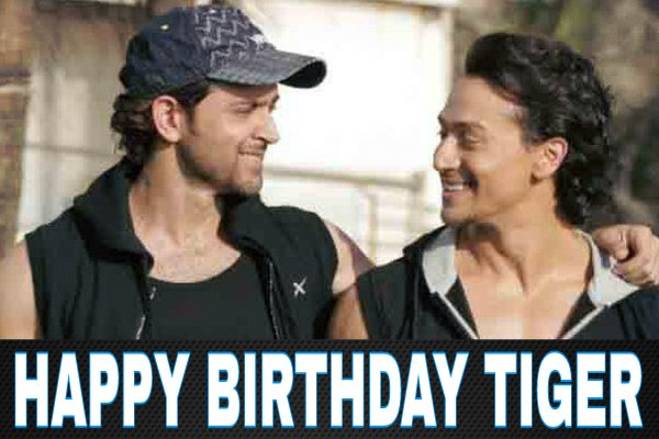 Birthday Tiger Shroff! Proud to say that u too r a Hrithik Fan like us! A fan Hrithik sir is proud of!
