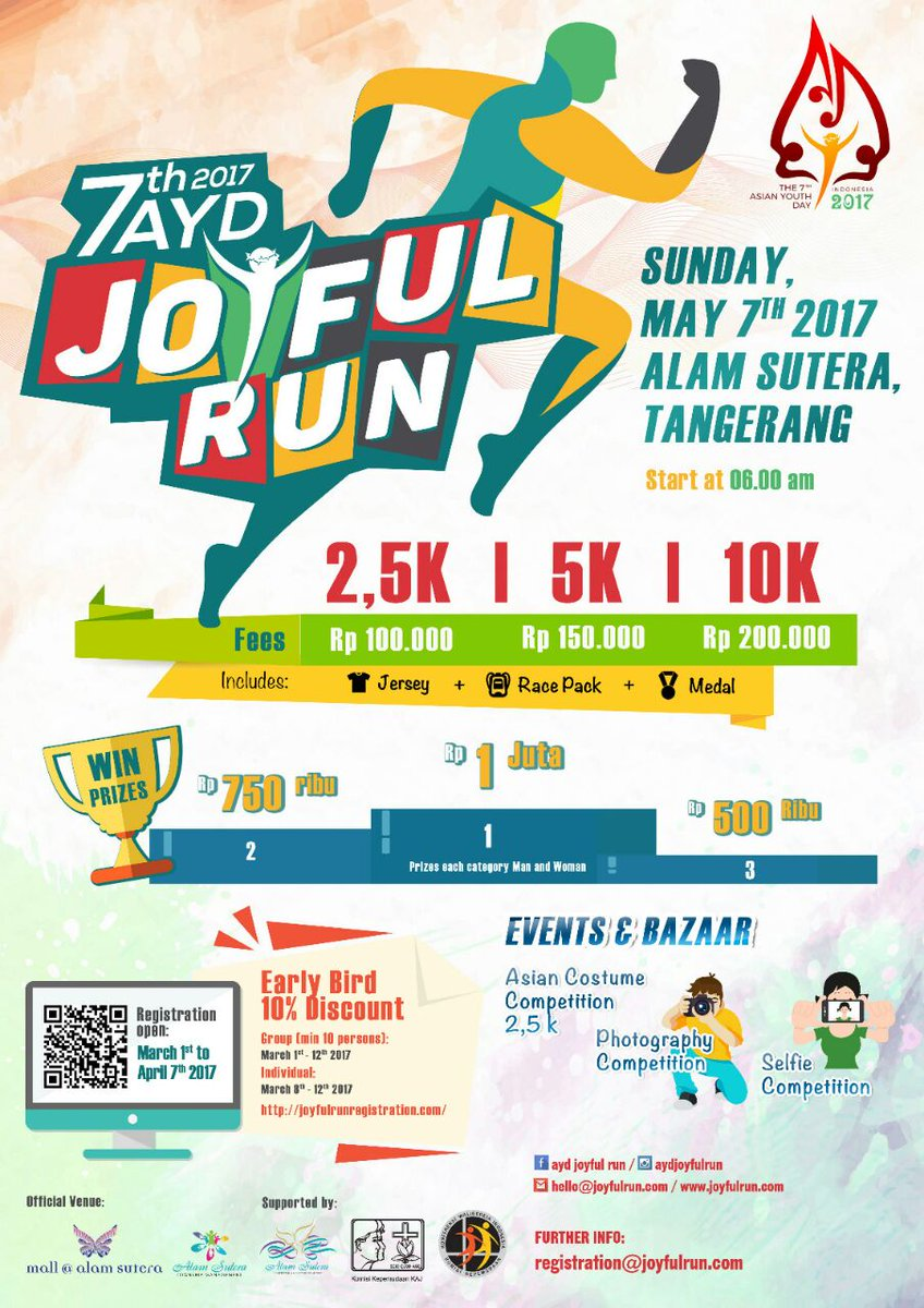 AYD Joyful Run • 2017