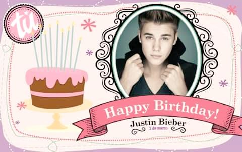 HAPPY BIRTHDAY JUSTIN BIEBER I LOVE YOU.