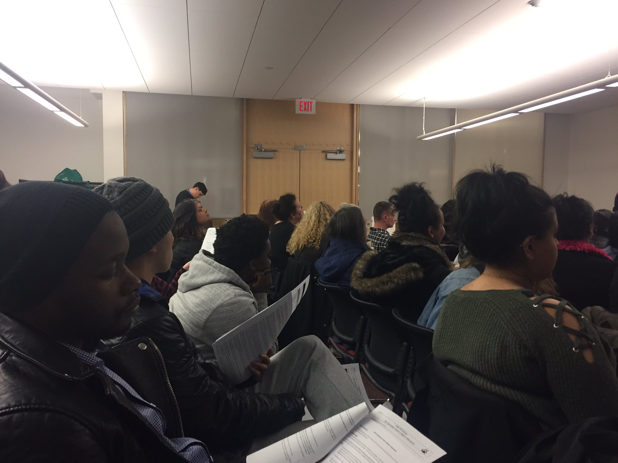 so proud of my @SFU_FHS community & health service students participating in training tonight for @CityofSurrey #homelesscount @sfusurrey https://t.co/qN28hnTm6f