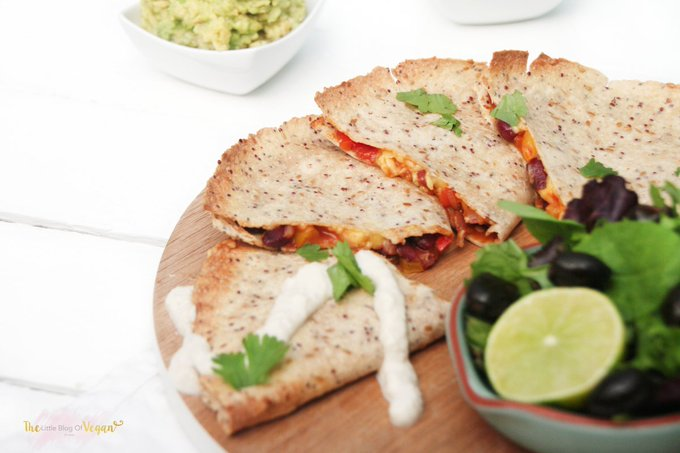 Spicy quesadillas (gluten free)