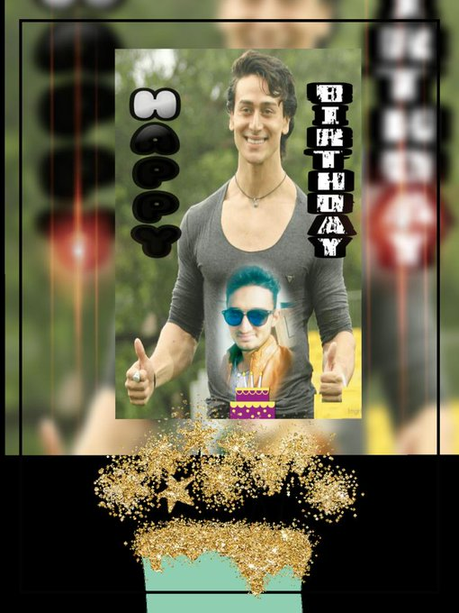 TIGERSHROFF Wishing you a very happy birthday.  I wish you luck   Courage and strength to continue    Tiger shroff