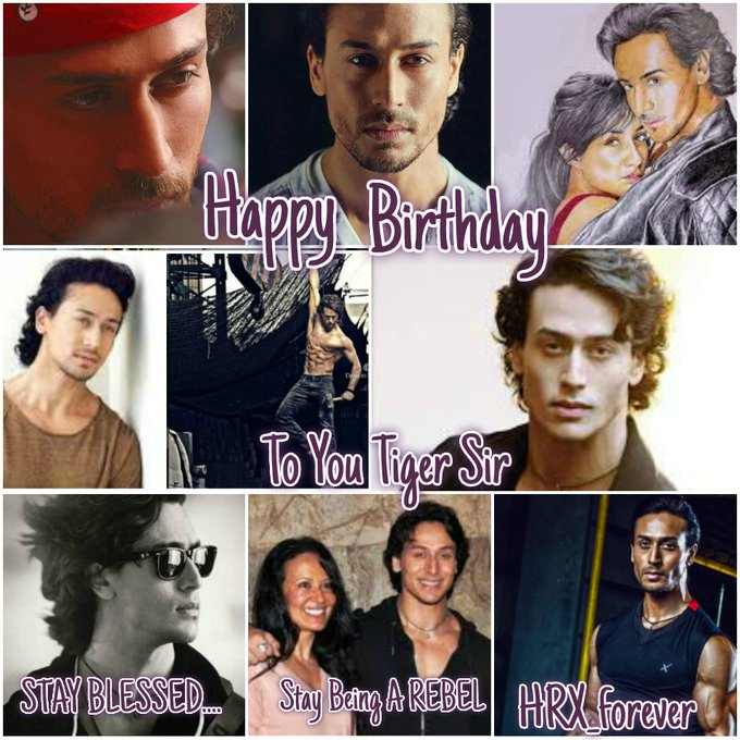 Happy Wala Birthday to You Tiger Shroff.. Love you a lot....
