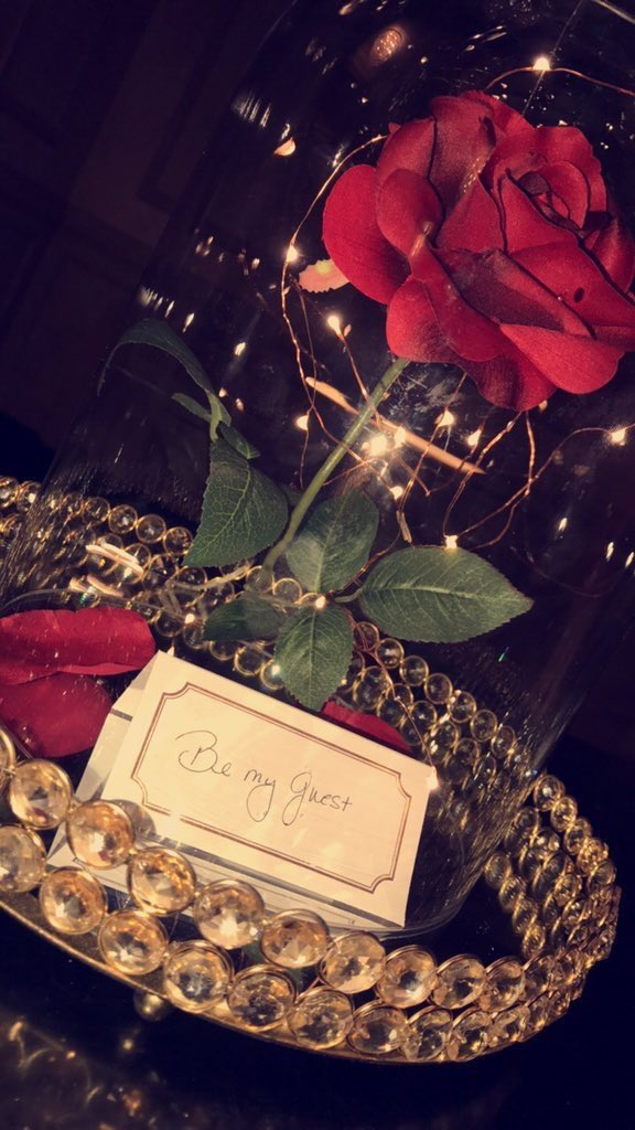 Prom Proposals On Twitter Beauty And The Beast Prom Proposal