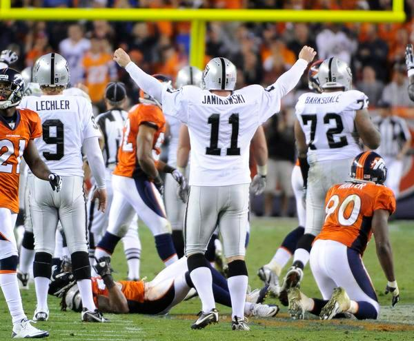 Happy birthday to Pro-Bowl PK Sebastian Janikowski, 3/02/1978. all-time scorer with 1799 points.