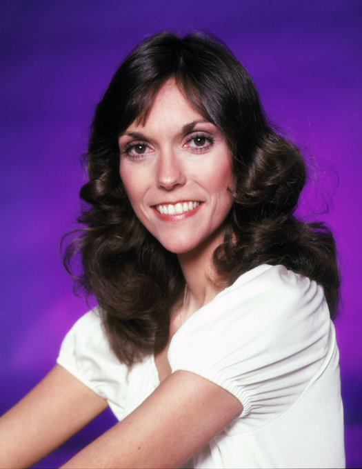 Happy birthday to Karen Carpenter, turning 67 today somewhere up on top of the world.