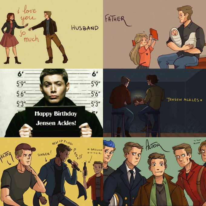 Happy Birthday Jensen Ackles!! Love you!