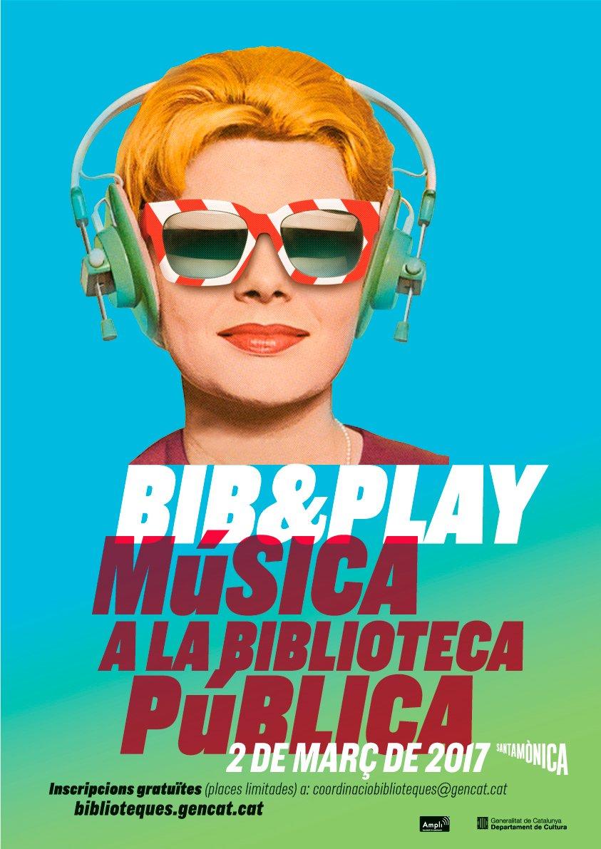 Avui a les 10.15h comença la 2a jornada #bibandplay sobre difusió de la música a les biblioteques @artssantamonica https://t.co/j44nObztwe