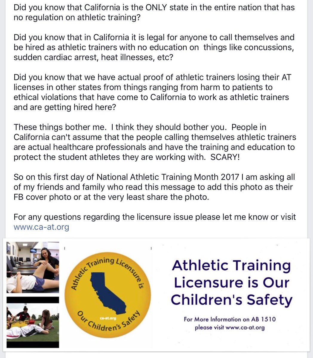 Safetyinlicensure hashtag on twitter words from a colleague that nailed it in regards to lack of regulation on who is taking care of our kids on the field safetyinlicensure picitter 1betcityfo Gallery