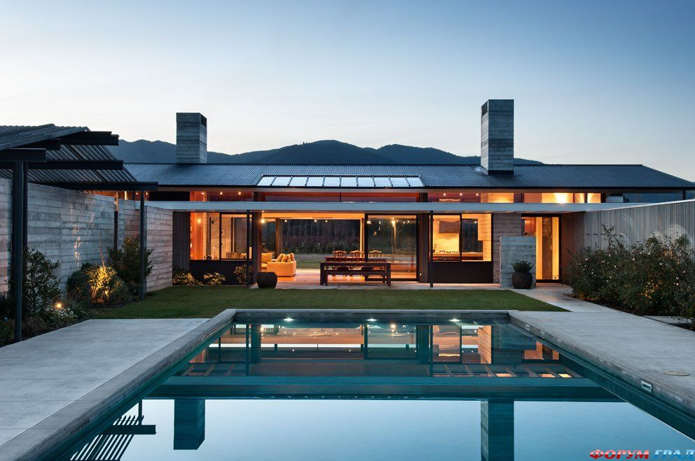 modern ranch home - 940×624
